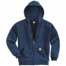 Men's Midweight Hooded Zip Front Sweatshirt by Carhartt