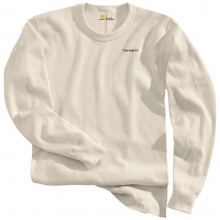 Men's Base Force Cotton Super Cold Weather Crewneck Top by Carhartt