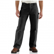 Men's Washed Duck Work Dungaree Flannel Lined Pant in Pocatello, ID