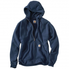 Men's Brushed Fleece Hooded Zip Sweatshirt by Carhartt