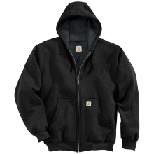 Men's Thermal Lined Hooded Zip Front Sweatshirt by Carhartt
