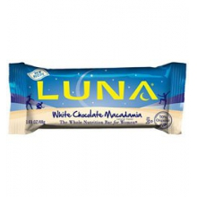 White Chocolate Macadamia Luna Bar by Clif Bar