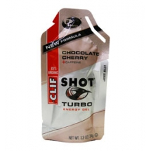Chocolate Cherry Turbo Energy Shot Gel by Clif Bar