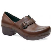 Womens Tamara Burnished Full Grain Clog