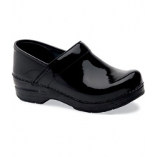 Professional Patent Leather Clog - Women's-Black-37