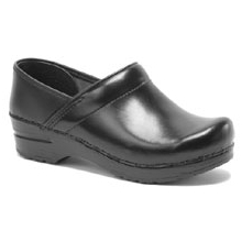 Professional Cabrio Leather Clog - Women's-Black-35 by Dansko