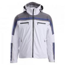 Swiss Insulated Ski Jacket Men's, Super White/Gray/Super White, 2XL by Descente