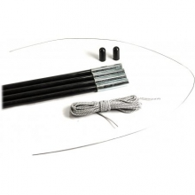 12.7 mm Fiberglass Tent Pole Replacement Kit in Austin, TX