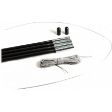 11 mm Fiberglass Tent Pole Replacement Kit in Austin, TX