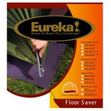 Floor Savers Pre-Cut 6 Mil Polyethylene- Medium Hex by Eureka