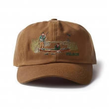 Embroidered Tin Cloth Duck Cap