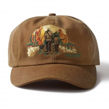 Embroidered Tin Cloth Upland Cap