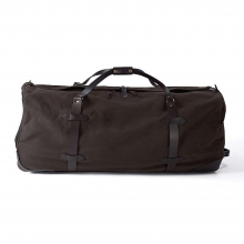 Extra Large Twill Wheeled Duffle Bag by Filson