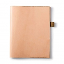 Large Leather Cover and Notebook
