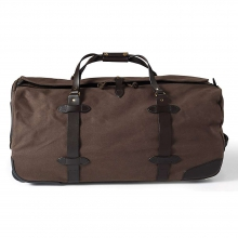 Large Twill Wheeled Duffle Bag by Filson