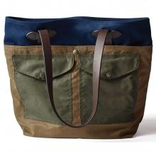 Medium Tall Tote with Pockets by Filson