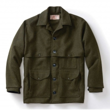 Men's Alaska Fit Wool Double Mackinaw Cruiser Jacket