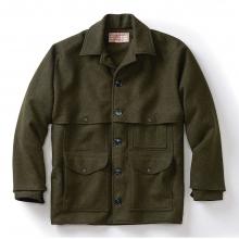 Men's Alaska Fit Wool Double Mackinaw Cruiser Jacket