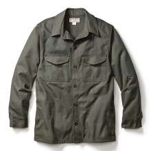 Men's Antique Tin Cloth Jac-Shirt by Filson