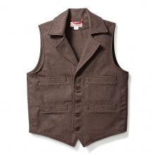 Men's Light Wool Western Vest