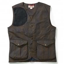 Men's Waxed Tartan Guide Vest