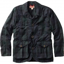 Men's Waxed Tartan Guide Work Jacket