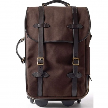 Twill Wheeled Carry-On Bag