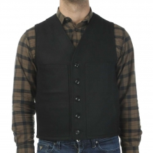 Men's Alaska Fit Wool Mackinaw Vest