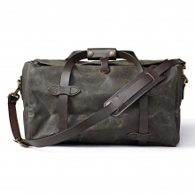 Small Heavy Tin Duffle Bag