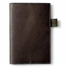 Small Leather Cover and Notebook