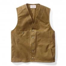 Men's Oil Tin Cloth Vest
