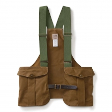 Men's Tin Cloth Game Bag Vest