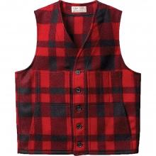 Men's Mackinaw Wool Vest