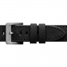 Dry Tin Cloth / Bridle Leather Watch Strap by Filson