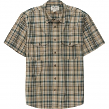 Men's Short Sleeve Feather Cloth Shirt
