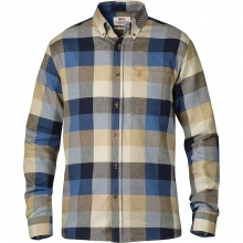 Men's Ovik Big Check Long Sleeve Shirt by Fjallraven