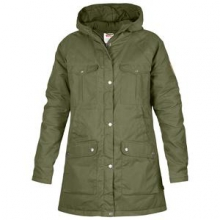 Greenland Parka Women's, Green, S by Fjallraven