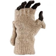 Ragg Wool Glomitt - Brown Tweed In Size by Fox River