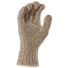Ragg Wool Gloves - Brown Tweed In Size in Tarzana, CA