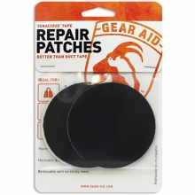 Tenacious Tape Repair Patches - 2 Black/2 Clear by Gear Aid