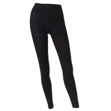 - Footless Wool Tight - Small - Black by Goodhew