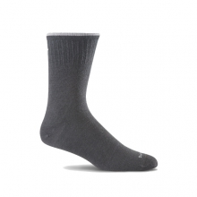 Plantar Ease Crew Sock  Womens - Black 2 Stripe S/M in Peninsula, OH