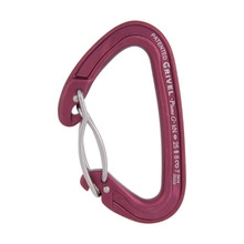 Plume Wire Twin Gate Carabiner by Grivel