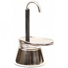 1 Cup Mini Espresso Maker Stainless Steel in Austin, TX