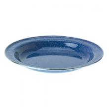 Pioneer Blue Enamelware Deep Plate - Blue by GSI Outdoors
