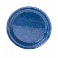 Pioneer 10 Inch Blue Enamelware Flat Plate by GSI Outdoors