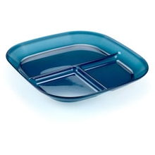 Infinity Divided Plate - Blue by GSI Outdoors