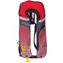 Pfd Inflatable Red/Gray