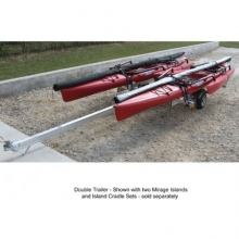 Trailer Alum Kayak Double Doub