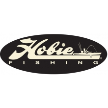 "Decal, 12""  Fishing White"